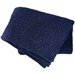 cashwere solid navy throw