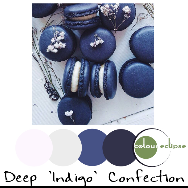 DEEP INDIGO CONFECTION