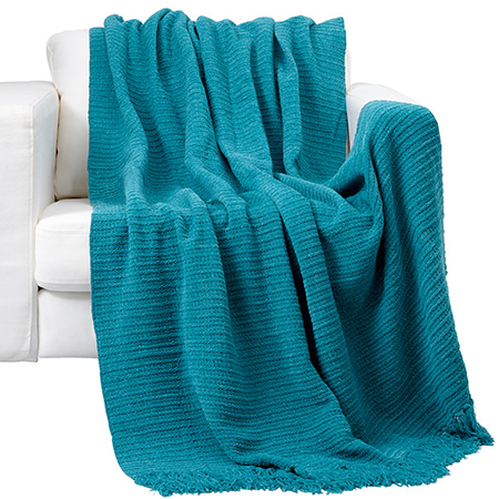 pantone biscay bay throw blanket