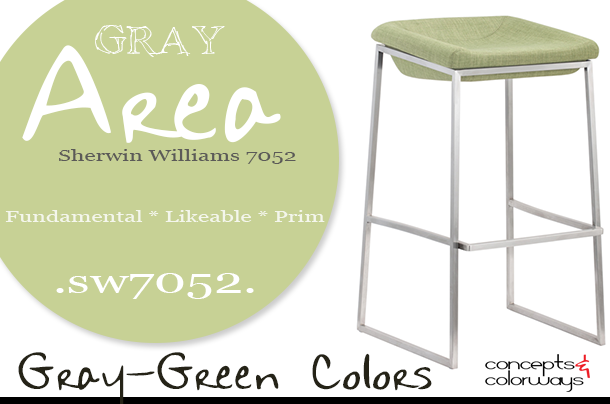 sherwin williams gray area used in interior design