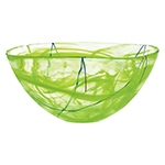 bright green decorative bowl