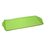bright green decorative tray
