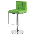 bright green modern barstool