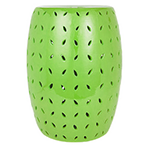 lime green garden stool