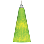 lime green pendant light