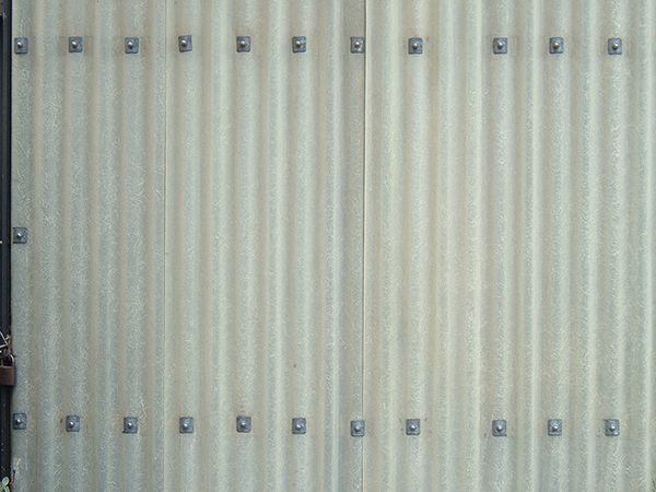 corrugated metal panels with bolts