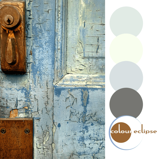 magnolia high entry door with color palette