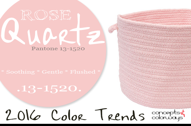 pantone rose quartz 2016 color trends