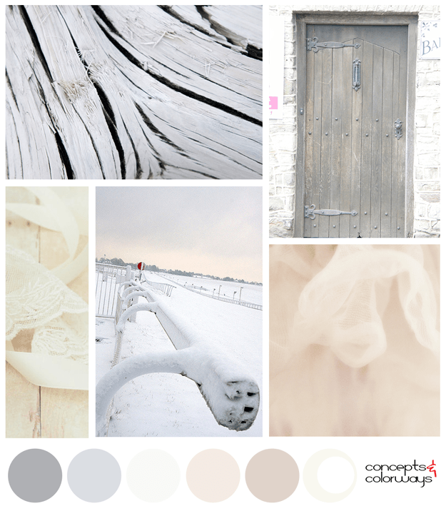 soft gray and pinkish-beige color palette