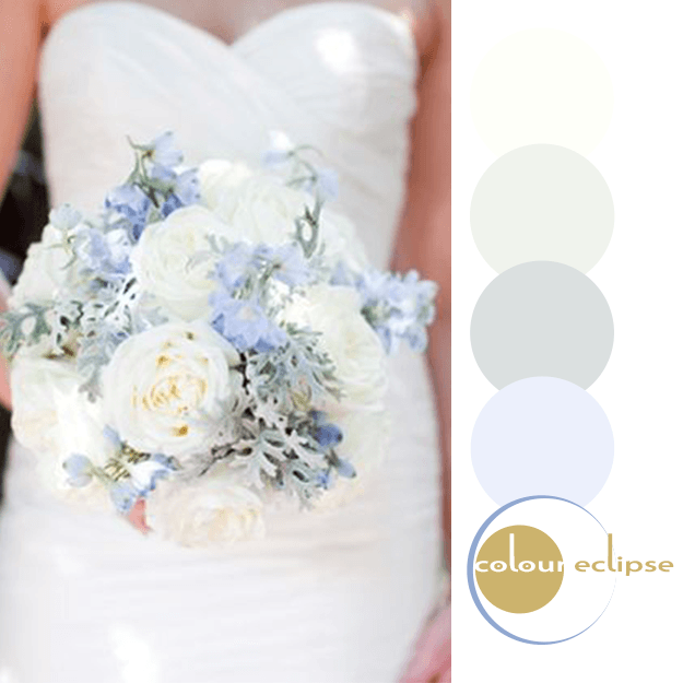 eucalyptus sky blue cream color palette