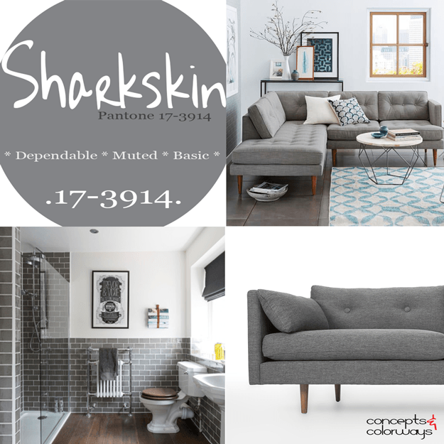 pantone sharkskin used in interior design
