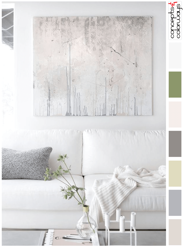 light neutral interior color palette