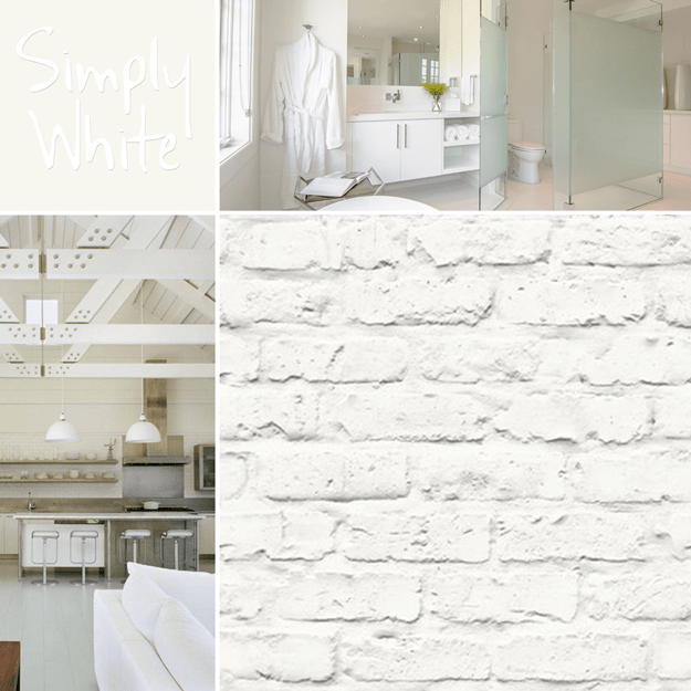 Benjamin Moore Simply White: Concepts And Colorways