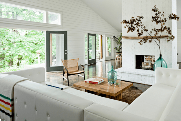 Simply White Living Room Ideas: BENJAMIN MOORE SIMPLY WHITE