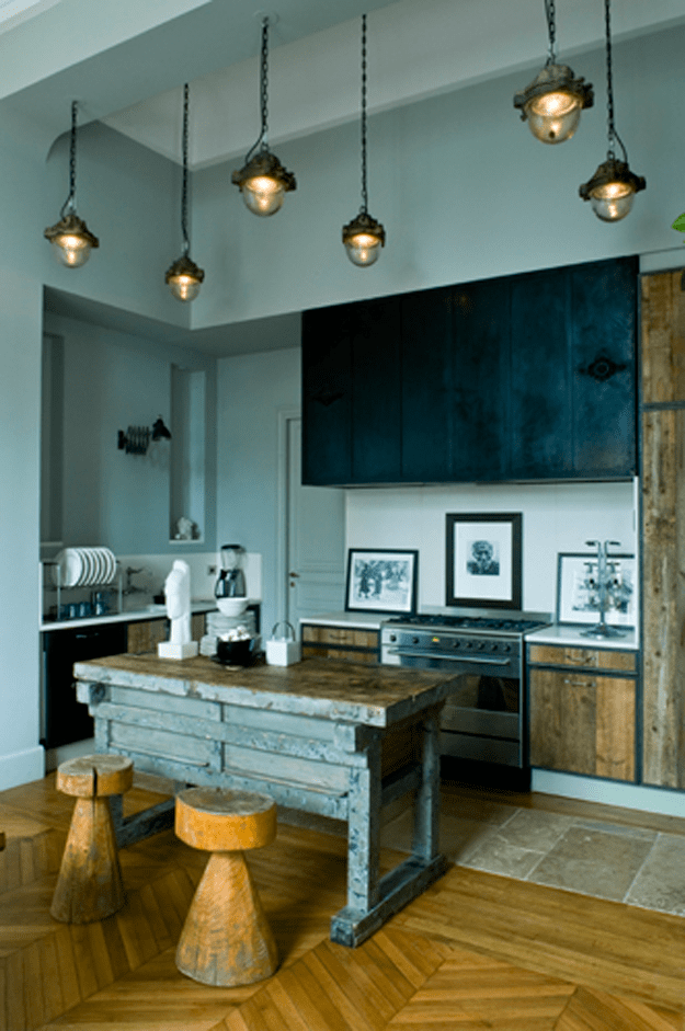 Robins Egg Blue Kitchen