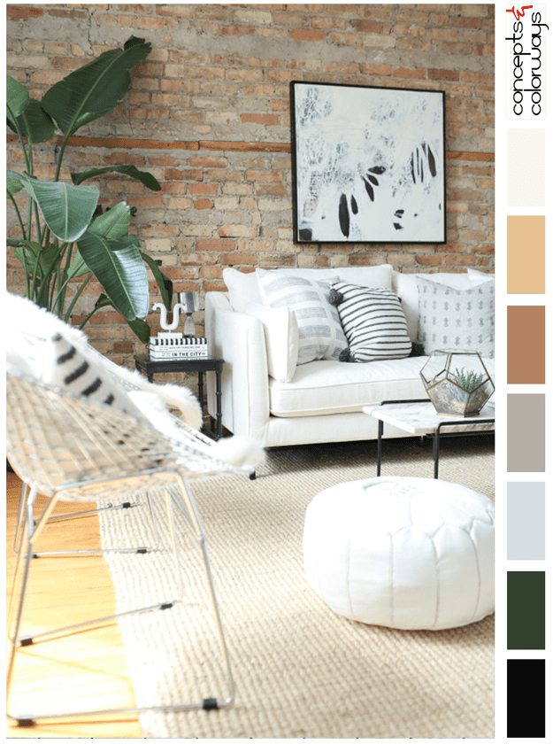 urban neutrals interior color palette