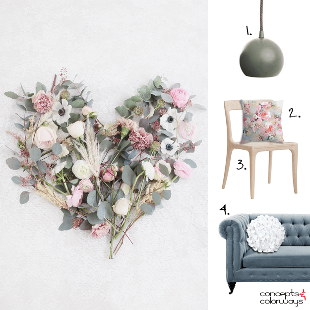 floral inspired interior design