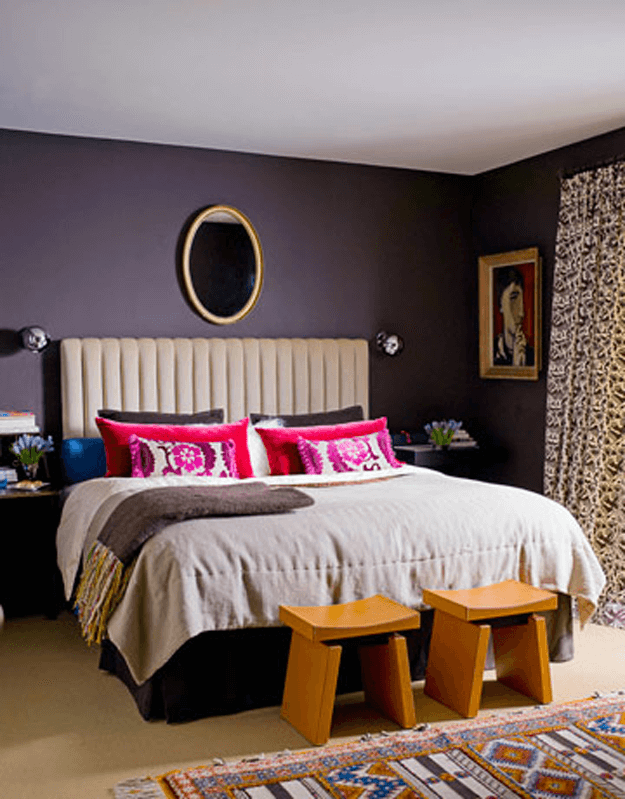 Benjamin moore shadow concepts and colorways for Dark purple wall color