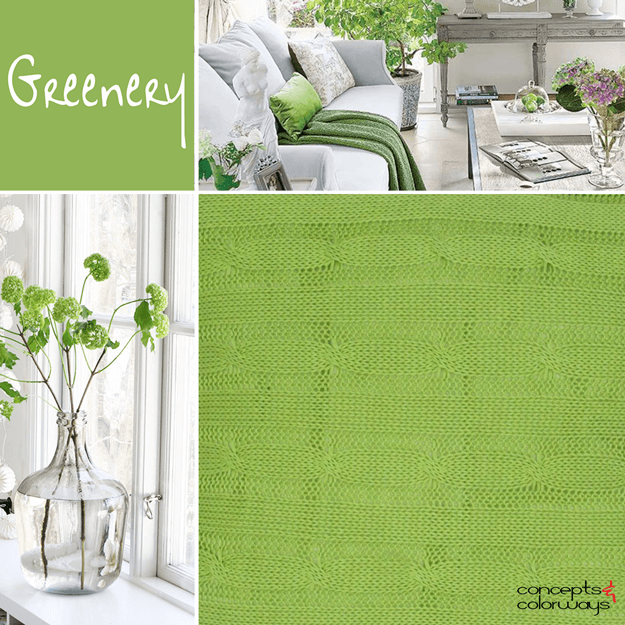 pantone greenery 2017 color trends