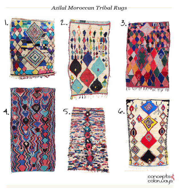 azilal moroccan tribal rugs product roundup
