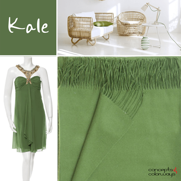 pantone kale 2017 color trend