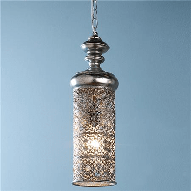 moroccan style cylinder pendant light