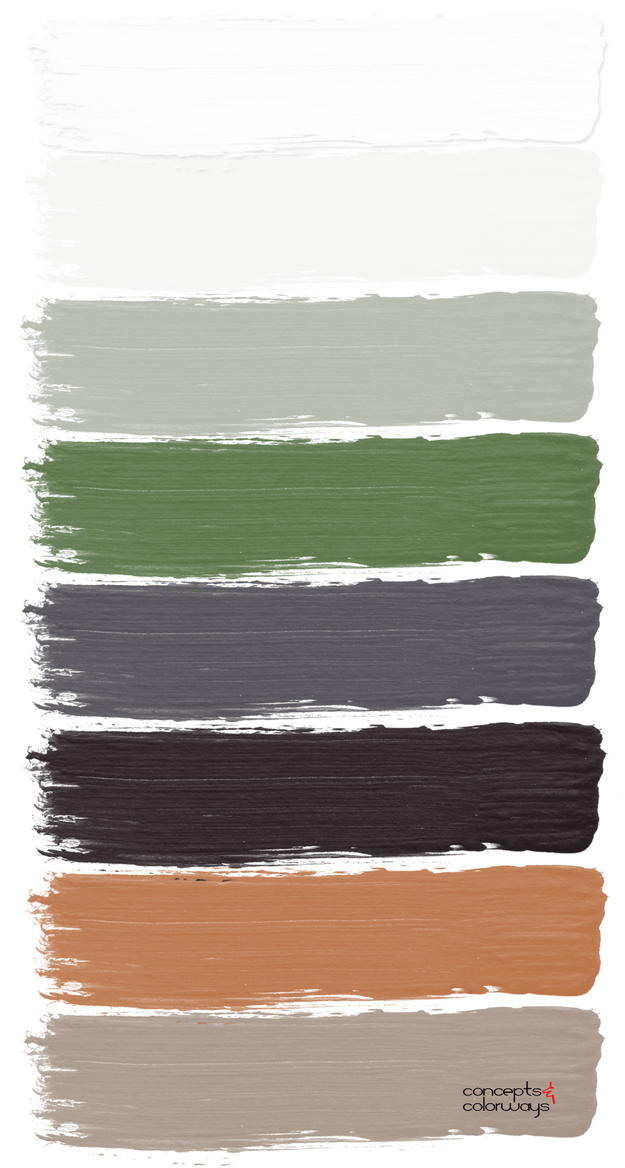 naturally simple paint palette