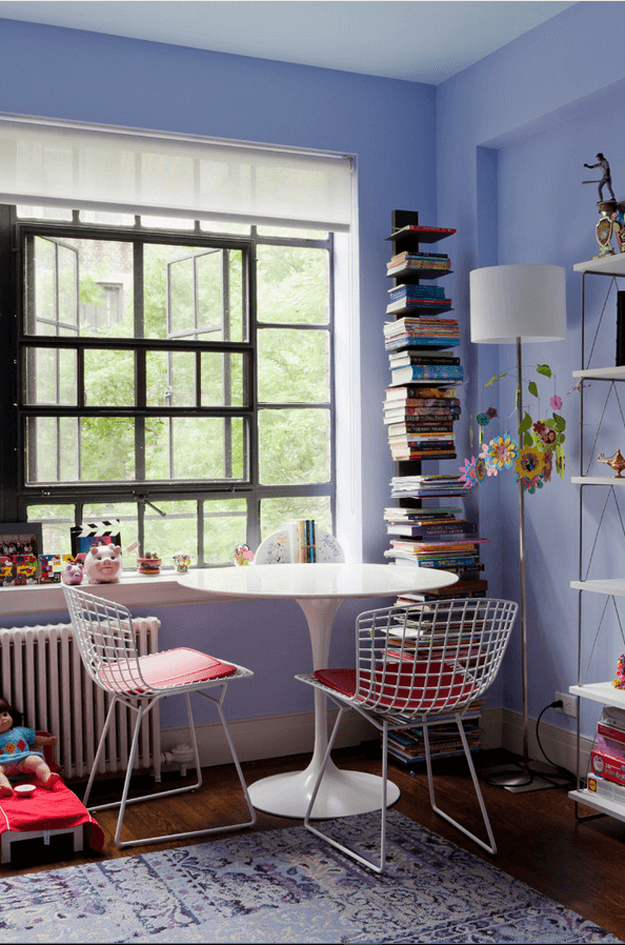 periwinkle blue kids room