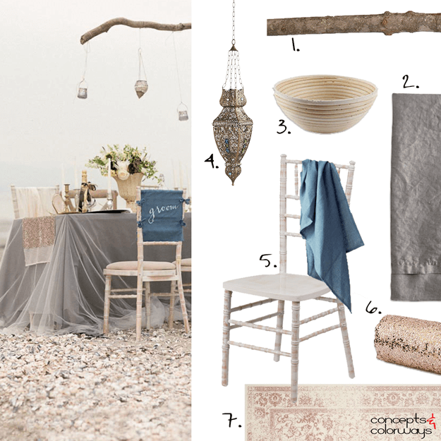 neutral seaside inspired interior design