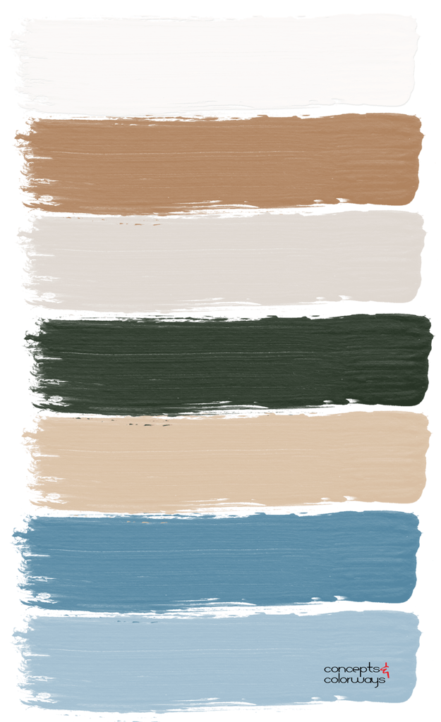 gilded tranquility paint palette