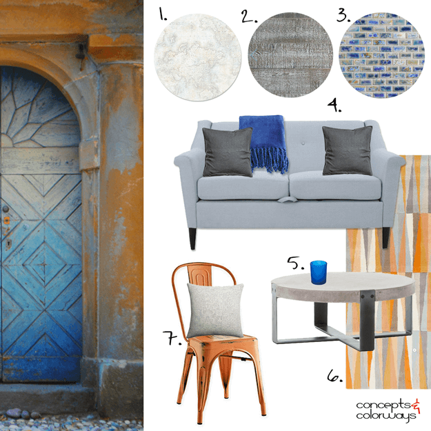 bergamo passage interior design mood board get the look
