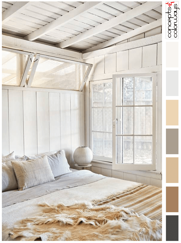 warm neutral interior color palette