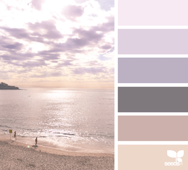 mental vacation design seeds color palette