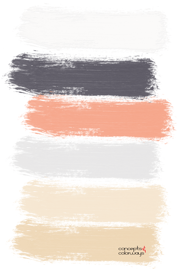interior design paint palette
