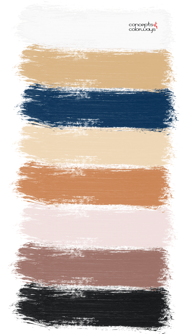 sugar and spice paint palette