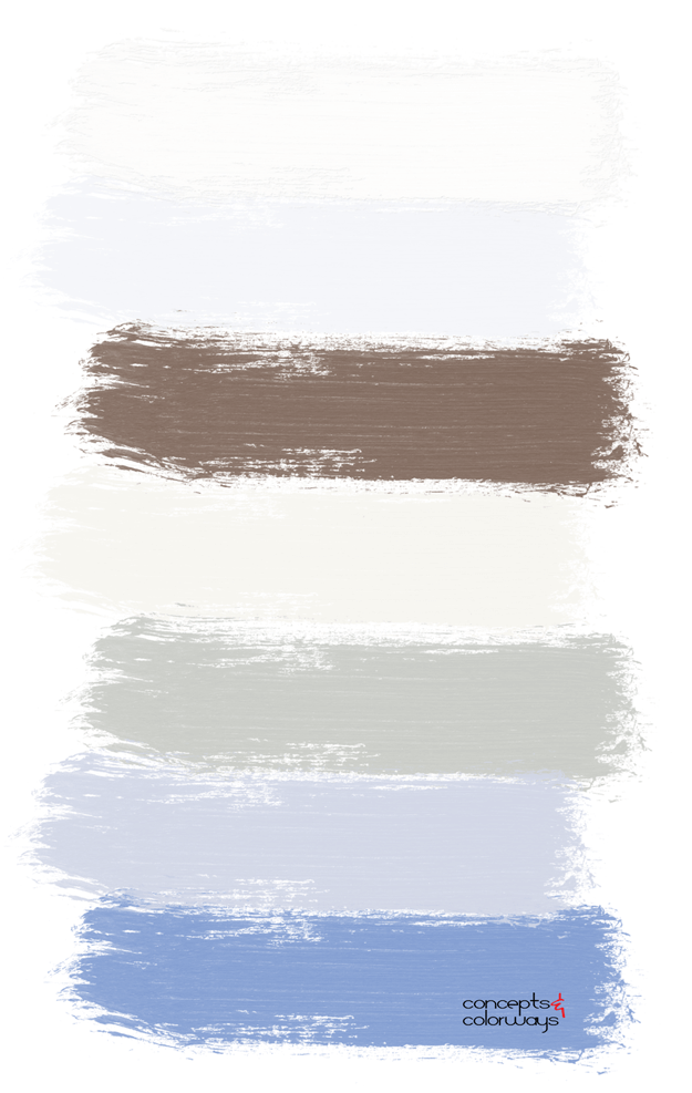 beach breeze paint palette