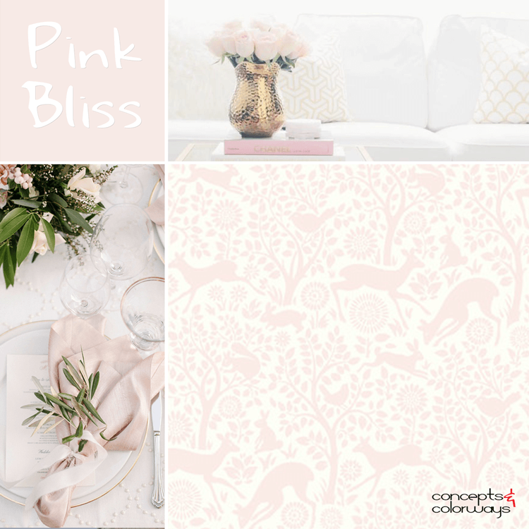 benjamin moore pink bliss, color for interiors, pale pink, blush pink, light pink, color trends 2017