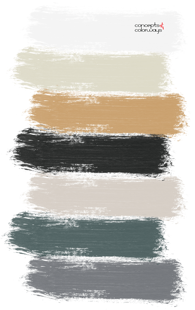 dark paint palette