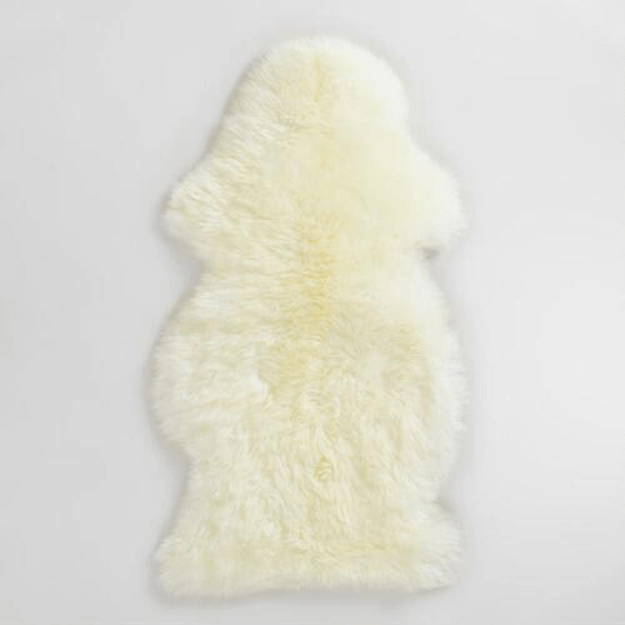 Ivory White Sheepskin Throw Rugs Concepts And Colorways
