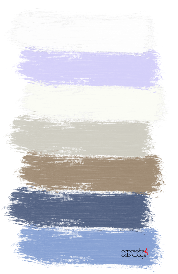 lavender cheesecake paint palette