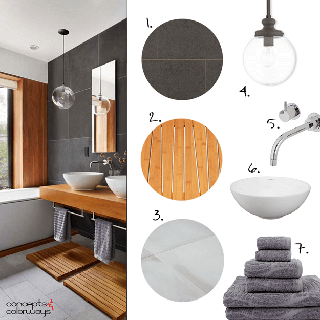 Bathroom Design Board interiors mood board archives - concepts and colorways