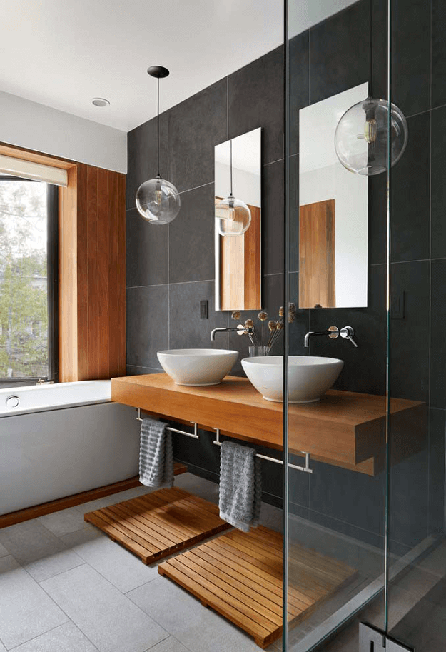 modern japanese style bathroom design