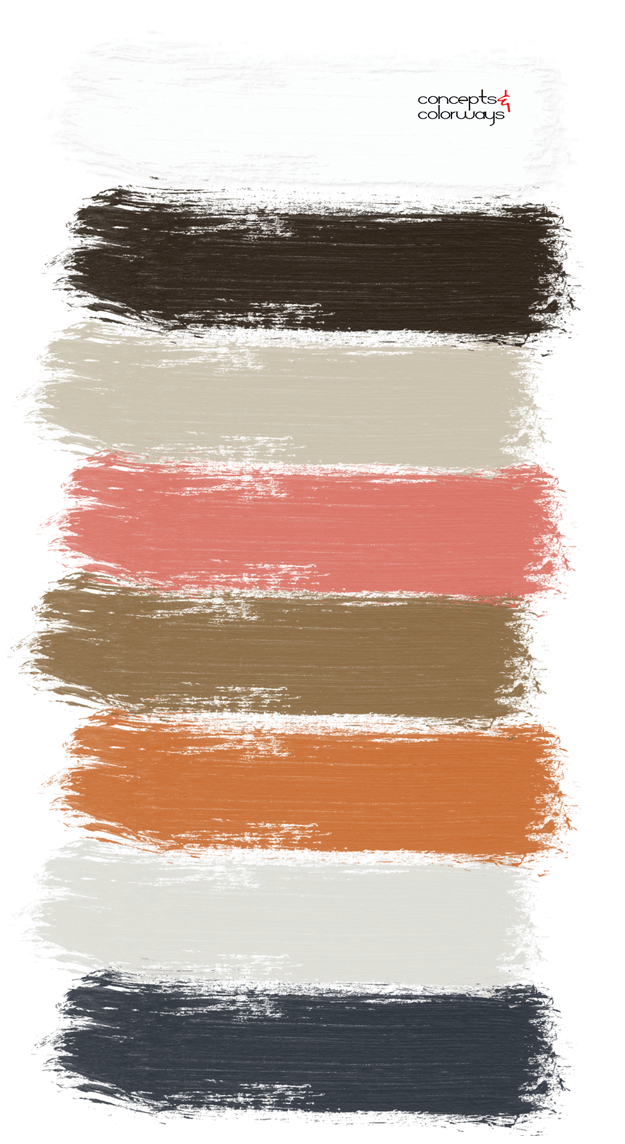 country charm paint palette
