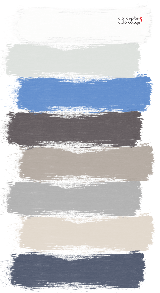 modern cottage paint palette
