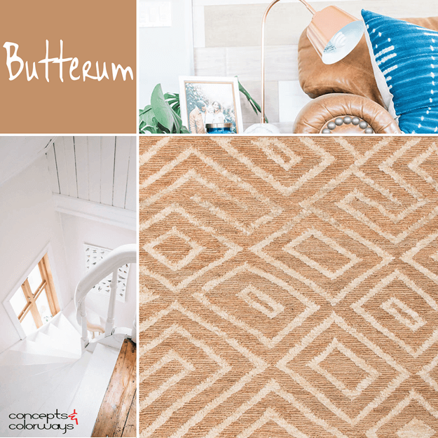 pantone butterum interior color trend