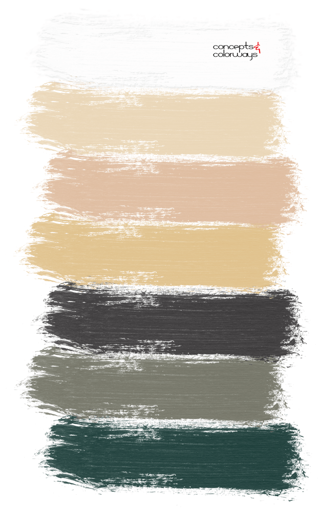 vintage modern farmhouse paint palette