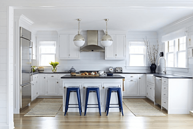 nautical style kitchen