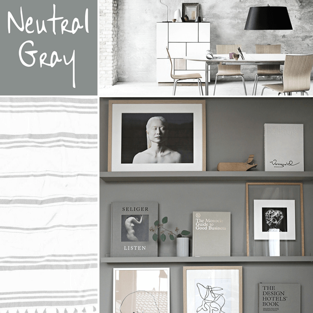 pantone neutral gray interior design color trend