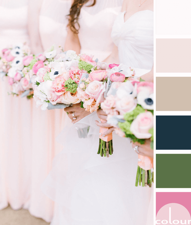 blush pink color palette