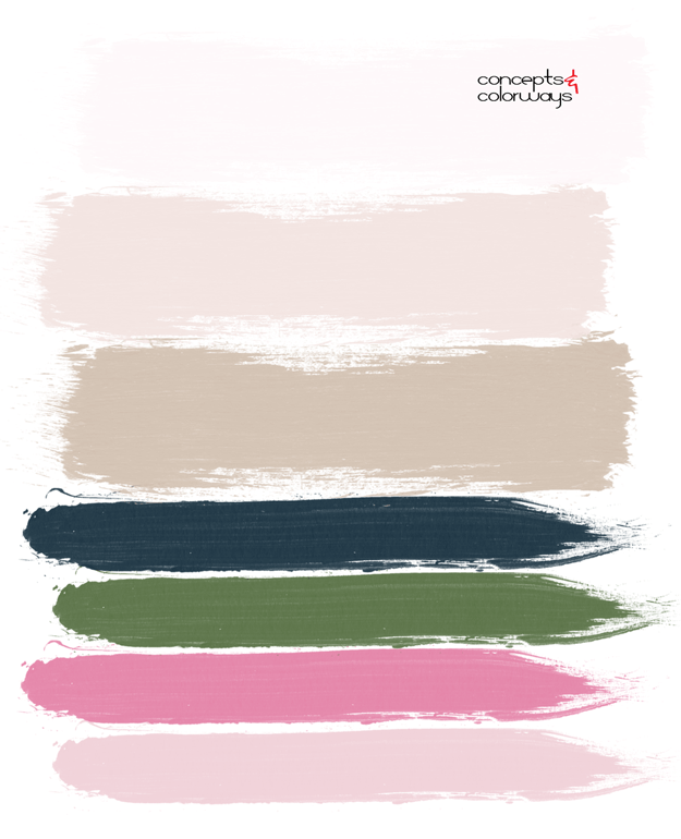 blush harmony paint palette